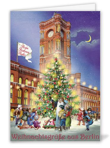 Weihnachtsgrüße Aus Berlin.Weihnachtsgrüße Aus Berlin Rotes Rathaus Actetre Deutschland Gmbh