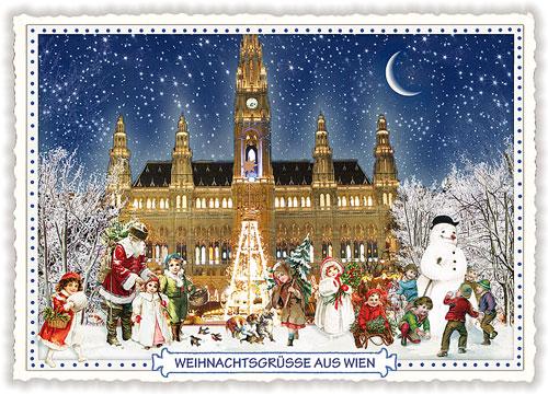 Weihnachtsgrüße Disney.Weihnachten Rathaus Wien Actetre Deutschland Gmbh